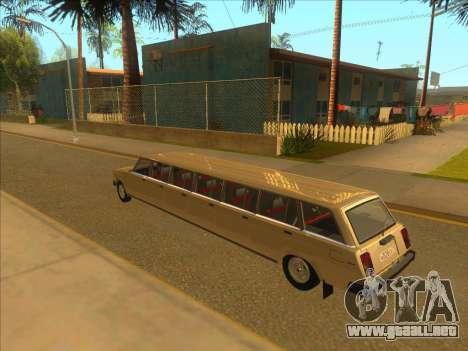 VAZ 2104 13-door para GTA San Andreas vista posterior izquierda