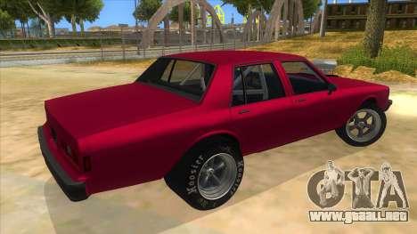 1984 Chevrolet Impala Drag para la visión correcta GTA San Andreas