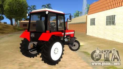 Massley Ferguson Tractor para la visión correcta GTA San Andreas