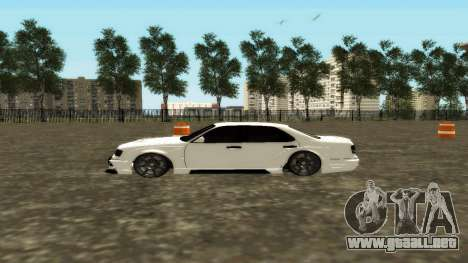 Nissan Cedric WideBody para GTA San Andreas left
