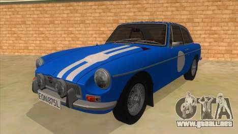 Richard Hammond MGB GT Top Gear para GTA San Andreas