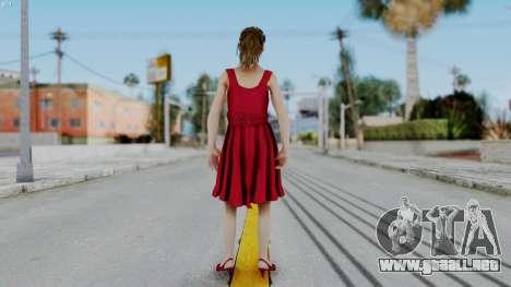 Hermione Dress para GTA San Andreas tercera pantalla