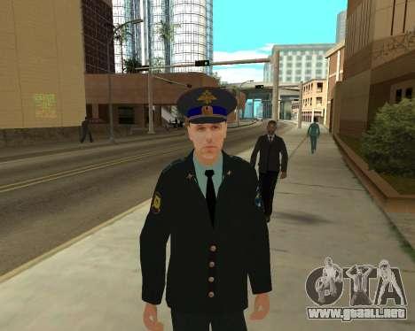 La Piel Es Sergei Glukharev para GTA San Andreas