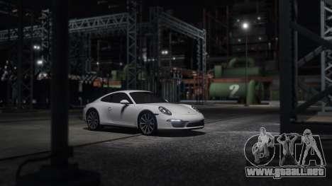GTA 5 Porsche 911 vista lateral izquierda