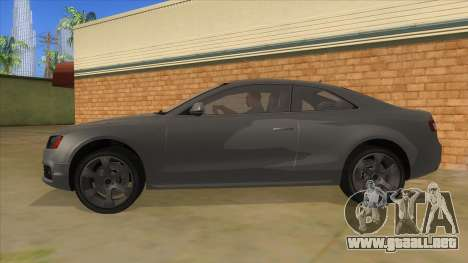 Audi S5 Sedan V8 para GTA San Andreas left