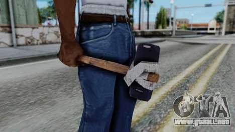 Nokia 3310 Hammer para GTA San Andreas tercera pantalla