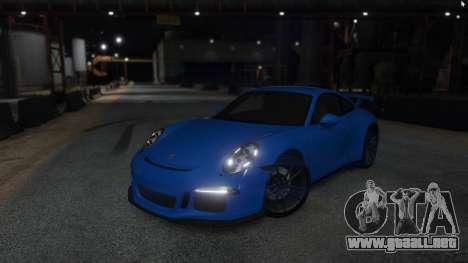 GTA 5 Porsche 911 vista trasera