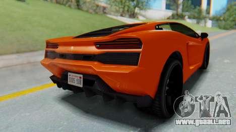 GTA 5 Pegassi Vacca IVF para GTA San Andreas left