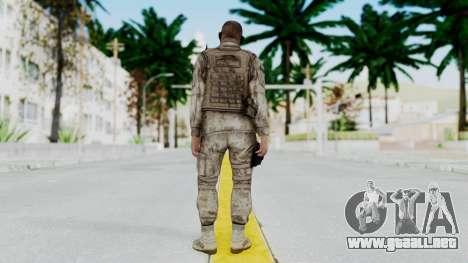 Crysis 2 US Soldier 2 Bodygroup A para GTA San Andreas tercera pantalla