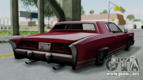 Remington Las Vivas para GTA San Andreas left