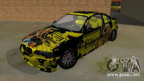 BMW M3 E46 Lily Itasha para GTA San Andreas