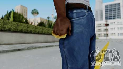 The Lover Knuckle Dusters from Ill GG Part 2 para GTA San Andreas tercera pantalla