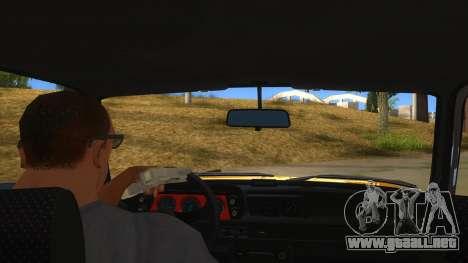 1974 BMW 2002 turbo v1.1 para visión interna GTA San Andreas