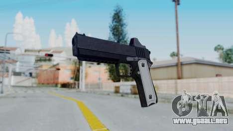 GTA 5 Heavy Pistol - Misterix 4 Weapons para GTA San Andreas segunda pantalla