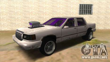 Stretch Sedan Drag para GTA San Andreas