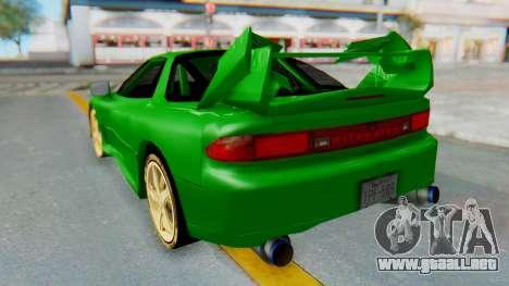Mitsubishi GT3000 FnF para GTA San Andreas left