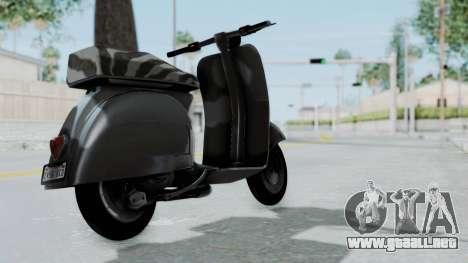 GTA 5 Principe Faggio para GTA San Andreas left