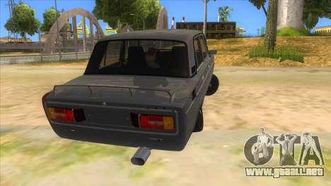 VAZ 2106 Drift Edition para la visión correcta GTA San Andreas