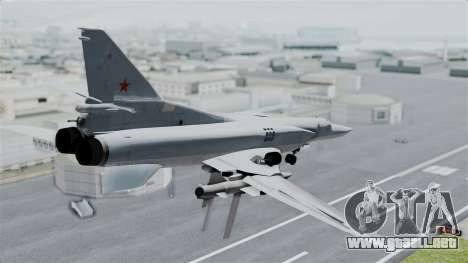 TU-22M3 para GTA San Andreas left