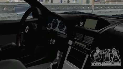 Nissan Skyline GT-R R34 V-spec 1999 para la visión correcta GTA San Andreas