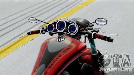Turbike 3.0 para GTA San Andreas vista hacia atrás