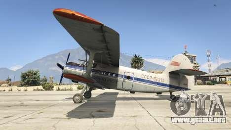 GTA 5 An-2 segunda captura de pantalla