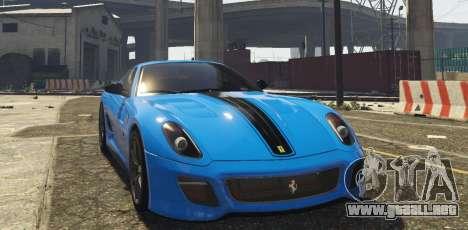 Ferrari 599 GTO[Replace] para GTA 5
