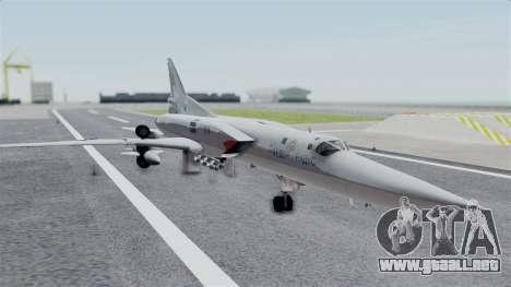 TU-22M3 Gris para GTA San Andreas