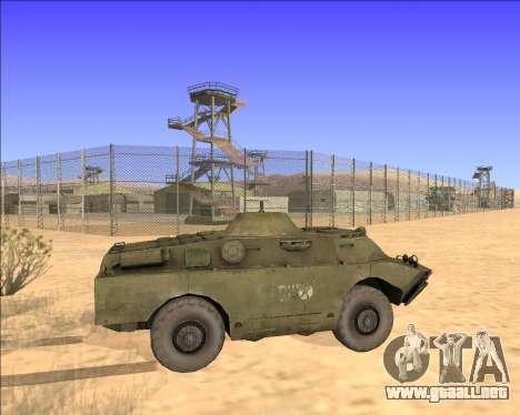 BRDM-2ЛД para visión interna GTA San Andreas
