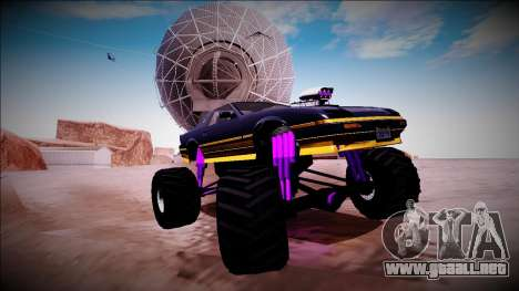 GTA 5 Imponte Ruiner Monster Truck para vista inferior GTA San Andreas