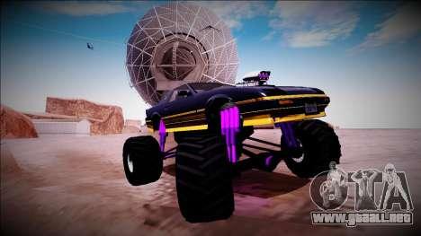 GTA 5 Imponte Ruiner Monster Truck para vista inferior GTA San Andreas