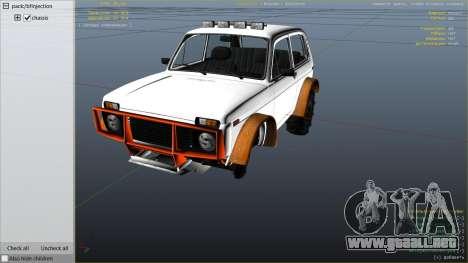 GTA 5 SUV VAZ-2121 vista lateral derecha