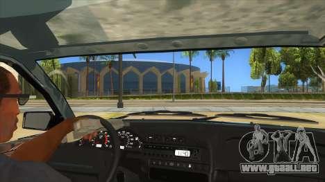 VAZ 2113 de la palanca de cambios para visión interna GTA San Andreas