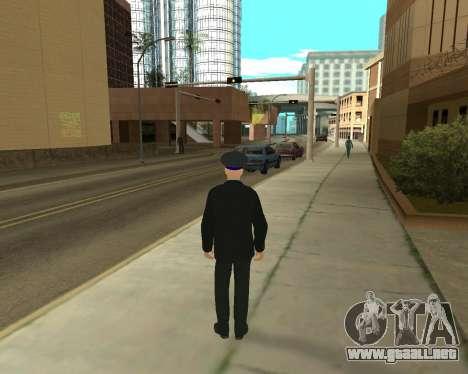 La Piel Es Sergei Glukharev para GTA San Andreas segunda pantalla
