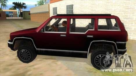 GTA III Landstalker para GTA San Andreas left