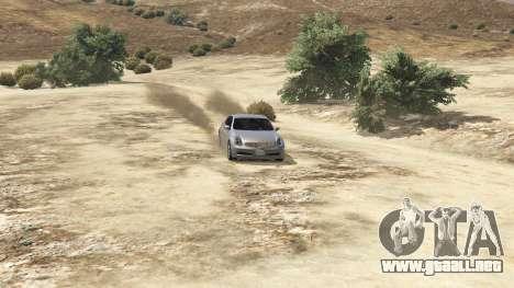 GTA 5 Infiniti G35 vista trasera