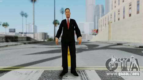 Bully Insanity Edition - Principal Will Smith para GTA San Andreas segunda pantalla