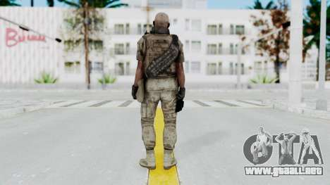 Crysis 2 US Soldier FaceB2 Bodygroup B para GTA San Andreas tercera pantalla