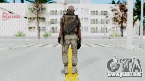 Crysis 2 US Soldier FaceB2 Bodygroup B para GTA San Andreas tercera pantalla