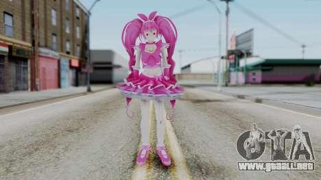 Sweet Precure Cure Melody para GTA San Andreas segunda pantalla