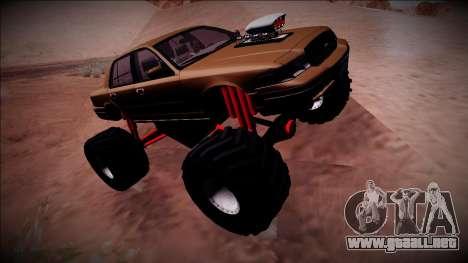 2003 Ford Crown Victoria Monster Truck para visión interna GTA San Andreas