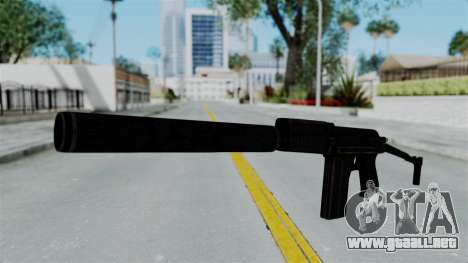 9A-91 Suppressor para GTA San Andreas