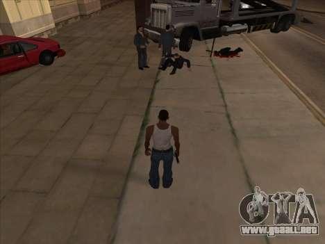 Los rusos en el distrito de Compras de la v2 para GTA San Andreas tercera pantalla