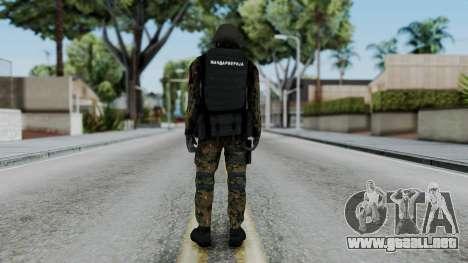 Serbian Zandarmerija para GTA San Andreas tercera pantalla