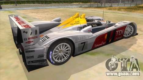 Audi R10 para la visión correcta GTA San Andreas