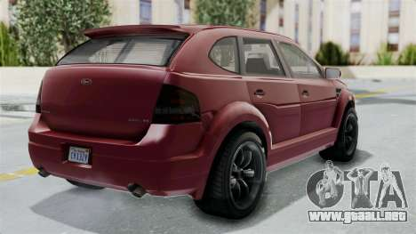 GTA 5 Vapid Radius IVF para GTA San Andreas left