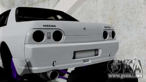 Nissan Skyline R32 Monster Truck para GTA San Andreas vista posterior izquierda