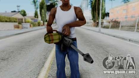 GTA 3 Flame Thrower para GTA San Andreas tercera pantalla