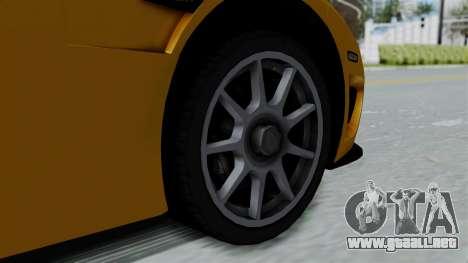 Koenigsegg CCXR 2013 para la visión correcta GTA San Andreas