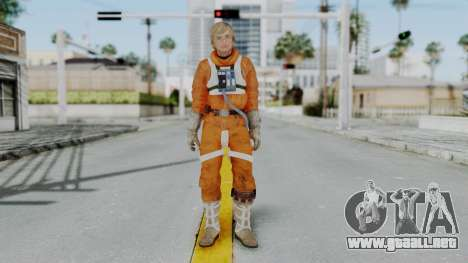 SWTFU - Luke Skywalker Pilot Outfit para GTA San Andreas segunda pantalla